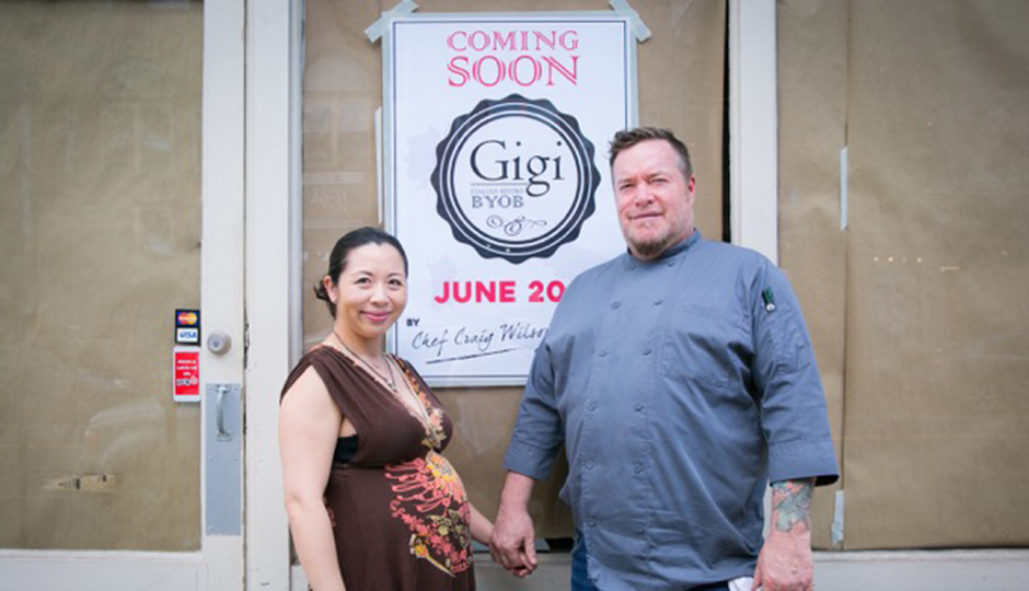 Jacqueline Au and Chef Craig Wilson | Photo by Dallyn Pavey
