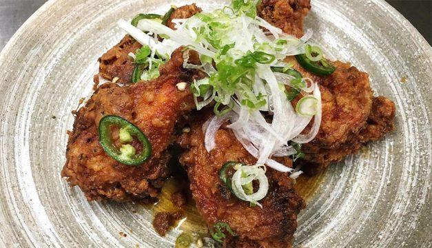 Karaage chicken wings at Royal Izakaya