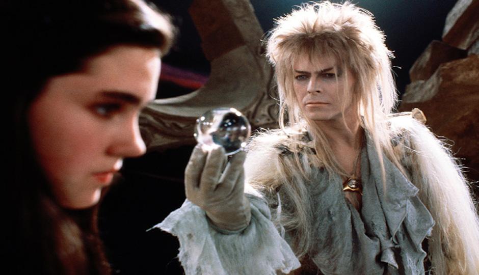 Watch goblin king David Bowie in Labyrinth.