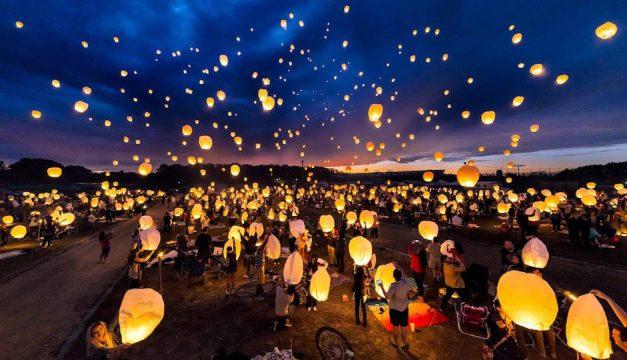 Be free, lanterns!