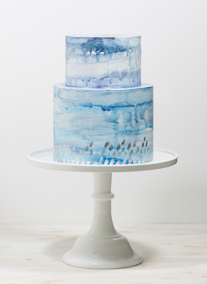 2016 Wedding Cake Trends | Watercolor