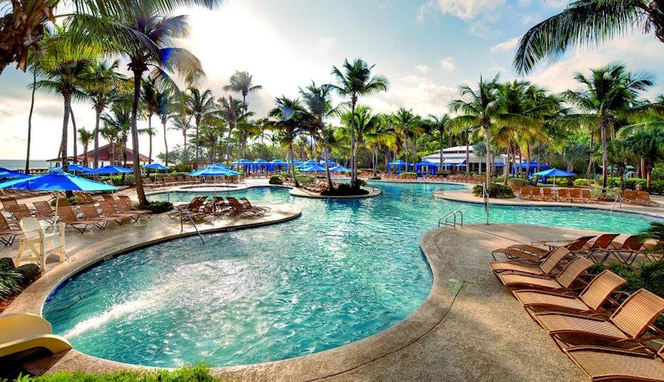 We wouldn't mind a stay at the Wyndham Grand Rio Mar Beach Resort & Spa in Puerto Rico. Facebook.com/WyndhamRioMar