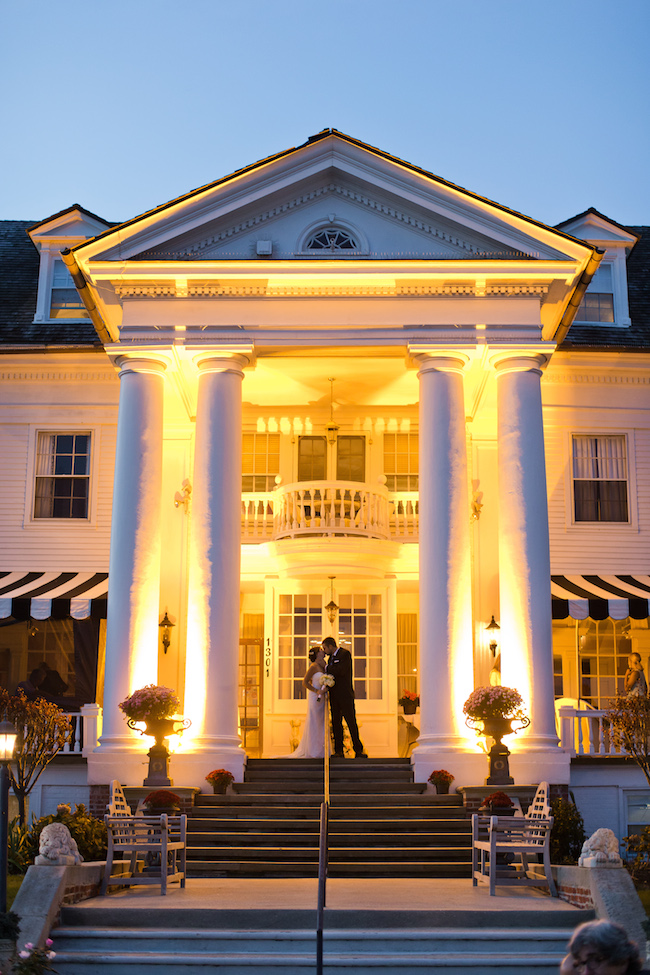 Best Jersey Shore Wedding Venues: Peter Shields Inn. Photo by Doyle Dowdell.