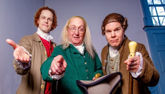 Hang out with the Founding Fathers at Independence After Hours. Photo by Jeff Fusco for Historic Philadelphia Inc