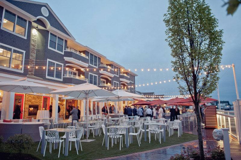 Best Jersey Shore Wedding Venues: Reeds at Shelter Haven. Photo by Spark Photography.