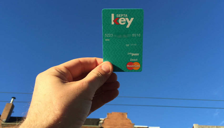 SEPTA Key card. Photo by Jared Brey.