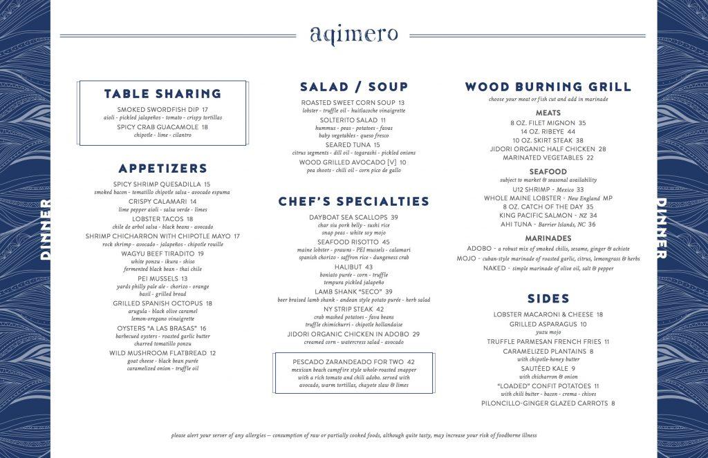 aqimero-dinner-menu
