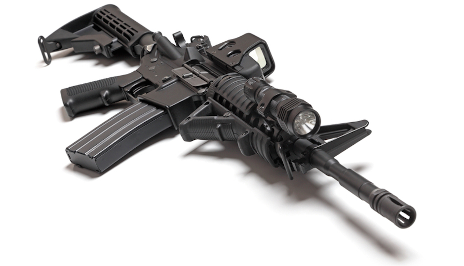 Photo of an AR-15. (iStock)