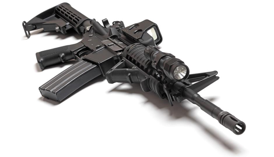 Photo of an AR-15. (iStock)