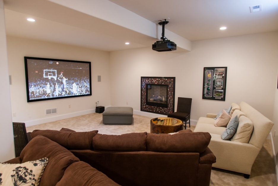 basement media room 28 images 30 basement remodeling Craft Room Ideas Small Home Theater Rooms