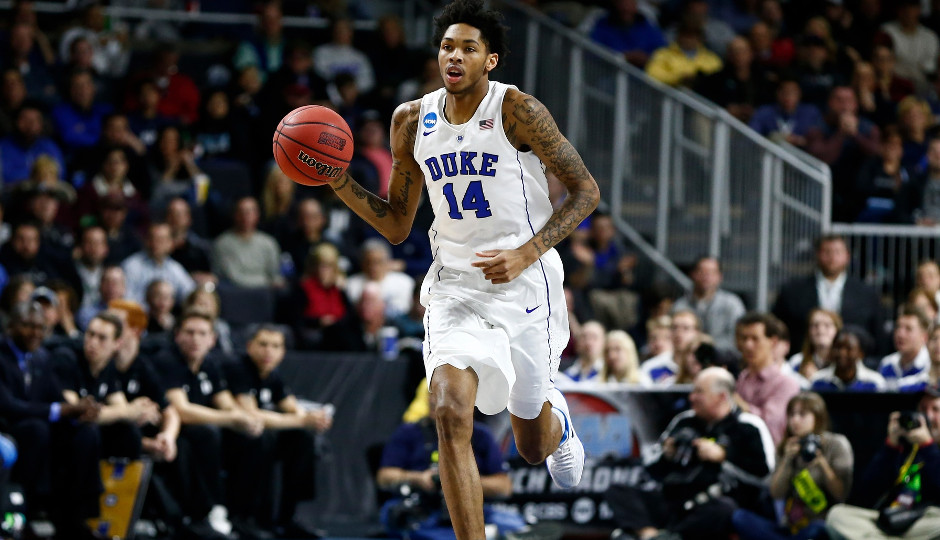 The Philadelphia 76ers had Duke forward Brandon Ingram in for a workout on Monday | Mark L. Baer-USA TODAY Sports