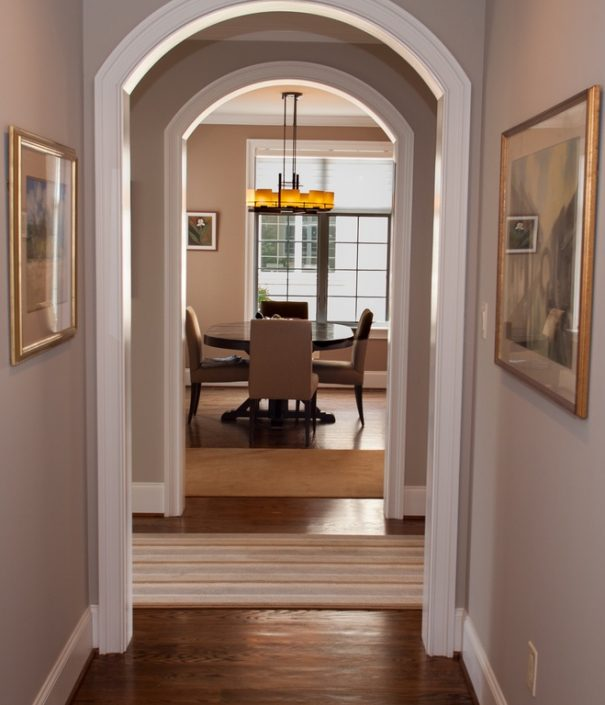 Colonial Dining Rooms Center Hall Colonial Kitchen Room: Main Line Monday: An Off-Center Hall Contemporary Colonial