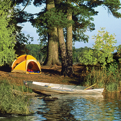 Outdoor Activities in Philadelphia: Go camping by the lake