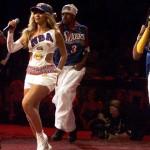 Destiny's Child at the 2001 NBA Finals