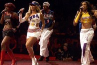 Destiny's Child at the 2001 NBA Finals