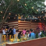 Heffe opens a pop-up beer garden | Photo via Wooder Ice