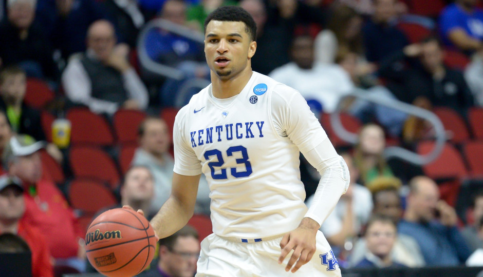 Kentucky's Jamal Murray could be an option if the Sixers acquire another top-5 draft pick in Thursday's NBA draft | Steven Branscombe-USA TODAY Sports