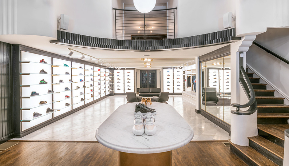 <em>Midtown Village shopping guide: Inside Lapstone & Hammer's sneaker heaven. | Image via Lapstone & Hammer</em>.