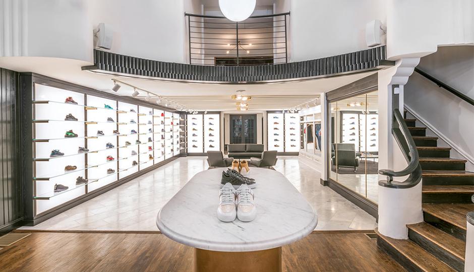 <em>Midtown Village shopping guide: Inside Lapstone & Hammer's sneaker heaven. | Image via Lapstone & Hammer</em>.