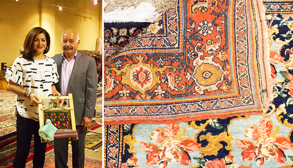 persian rug showroom 2