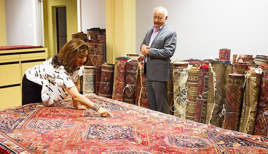 persian rug showroom 4