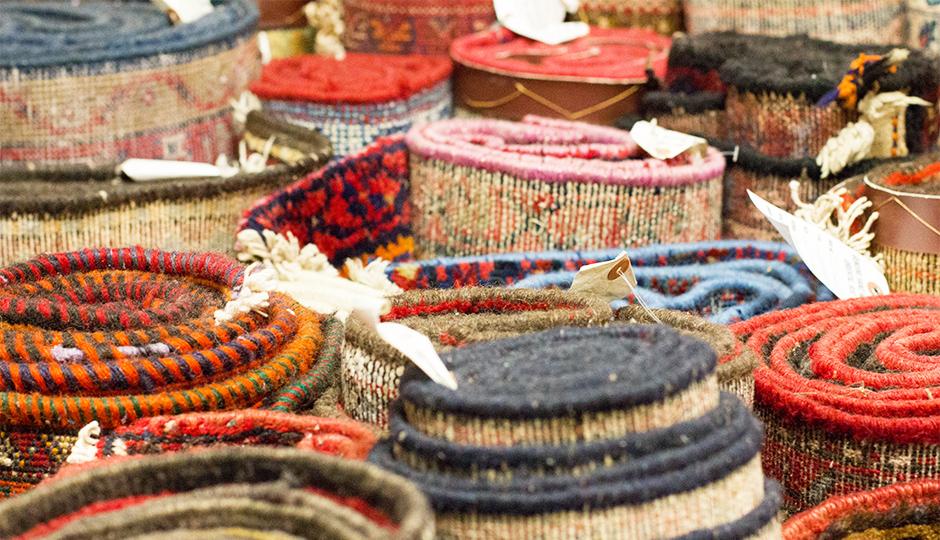 persian rug showroom