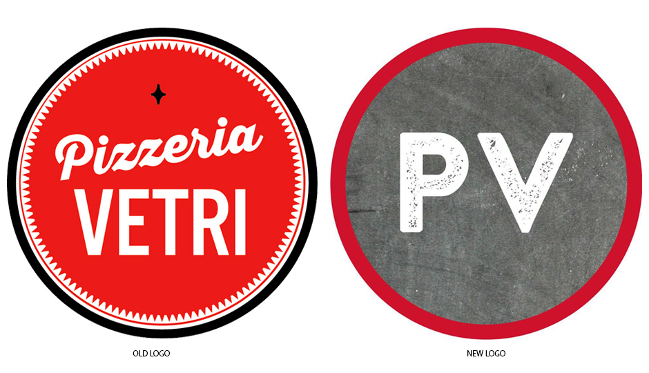 New pizzas, new logos.
