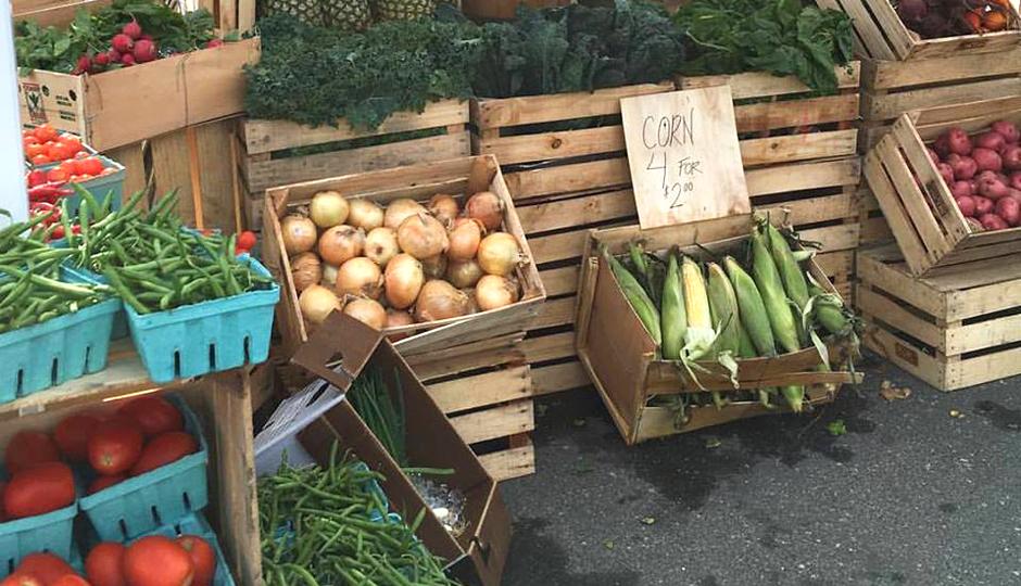 Riverwards Produce stand at Fishtown FestivAle | Photo via Facebook