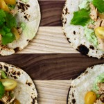 Shredded Chicken Tacos with Avocado Cream | Photo by Becca Boyd