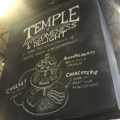 The Temple of Awesomeness and Delight is just that.
