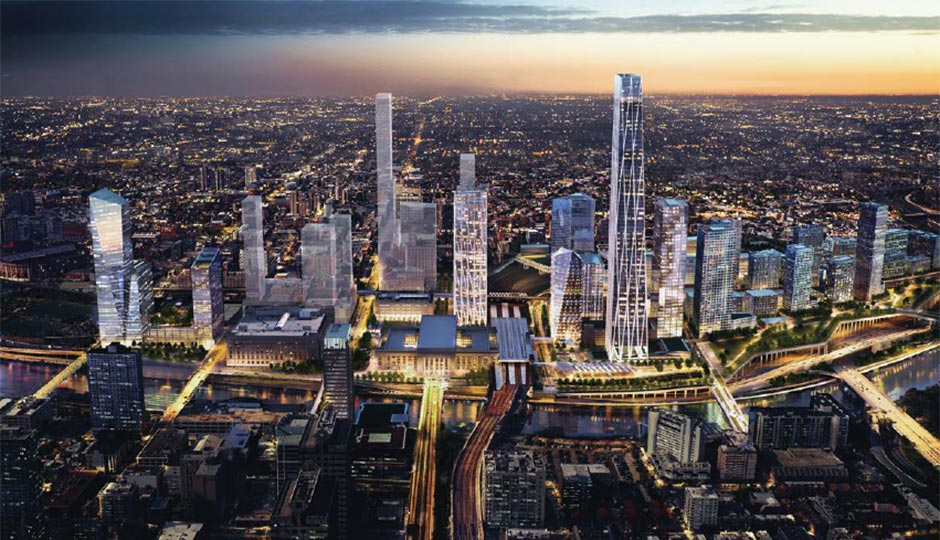 Property Development In Philly : Th street station development plans announced