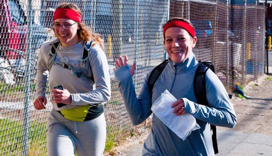 Runner's completing the Rocky 50K. | Photo via Facebook