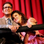 Sam Nagel (Oscar) and Colette Clancy (Charity) in Sweet Charity at Mazeppa Productions.