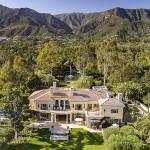 The late Ed Snider's palatial retreat in Montecito, Calif. | Photos: Jim Bartsch via Susan Burns