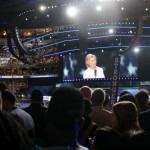 Hillary Clinton at the DNC | Photo by Jared Brey