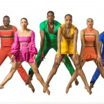 Philadanco dancers Adryan Moorefield, Courtney Robinson, Janine Beckles, Rosita Adamo, Tommie-Waheed Evans and Victor Lewis Jr. Photo by Lois Greenfield