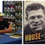 Lenny Dykstra signs copies of his memoir at a Cherry Hill Barnes & Noble on July 6, 2016.