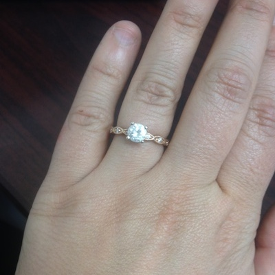 Holly's ring!