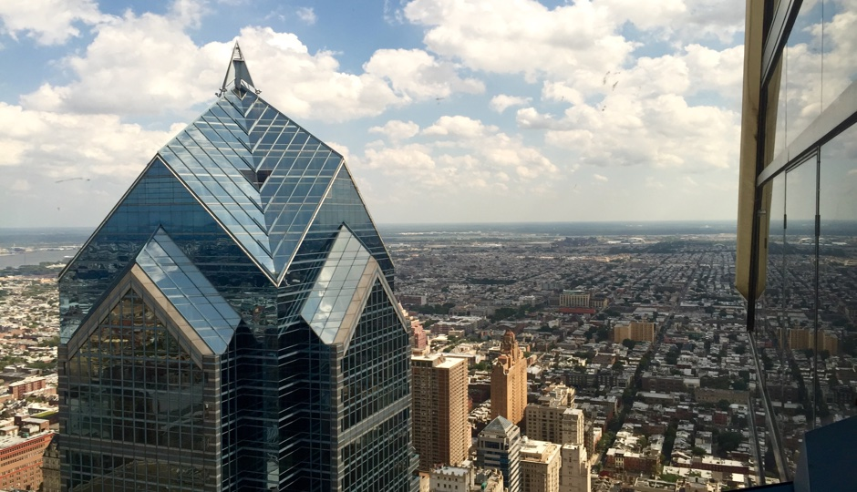 Check out the 360-degree views from One Liberty Observation Deck. Photo by Rachel Vigoda