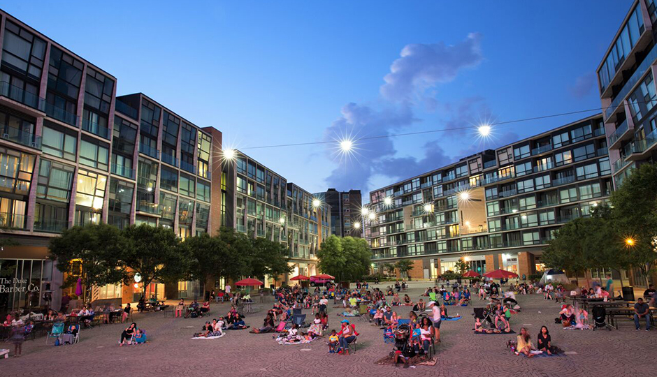 Photo credit: The Piazza at Schmidt's Commons