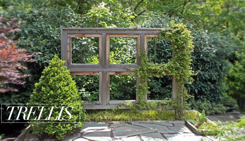 STEP UP YOUR PATIO GAME TRELLIS