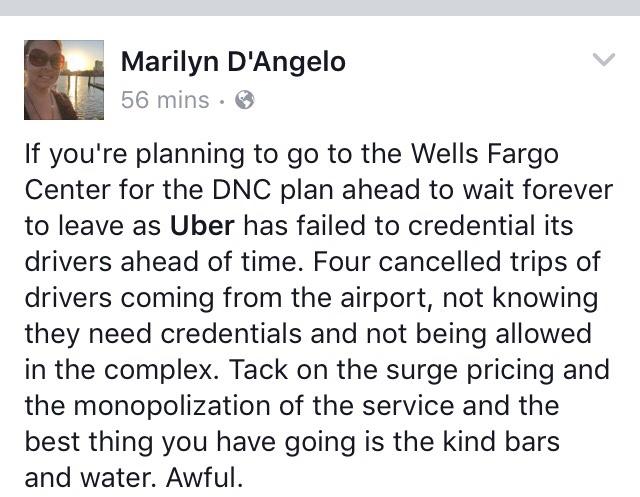 Uber Complaint
