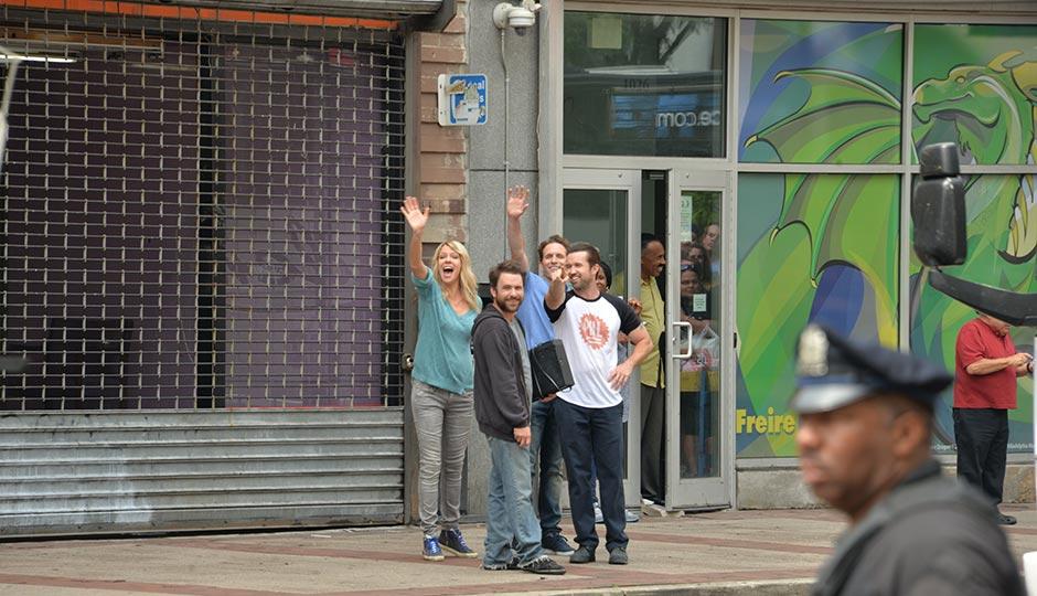 The cast of It's Always Sunny in Philadelphia.