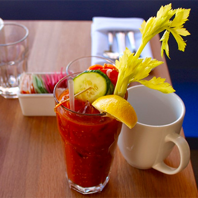 Bloody Mary mix at the Dutch |Photo by Emily Teel