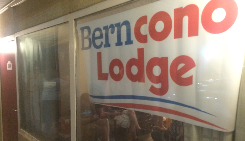 Room 224 at the Philadelphia Airport Econo Lodge.