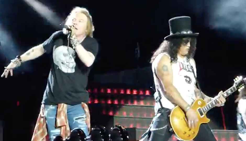 Guns N Roses Review Axl Rose And Friends In Philly Again