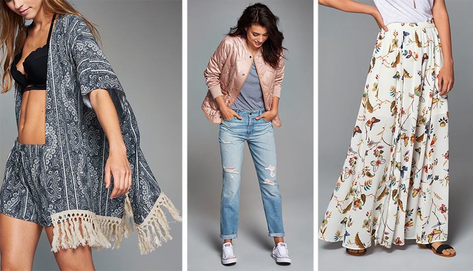 mall stores for summer fashion a&F