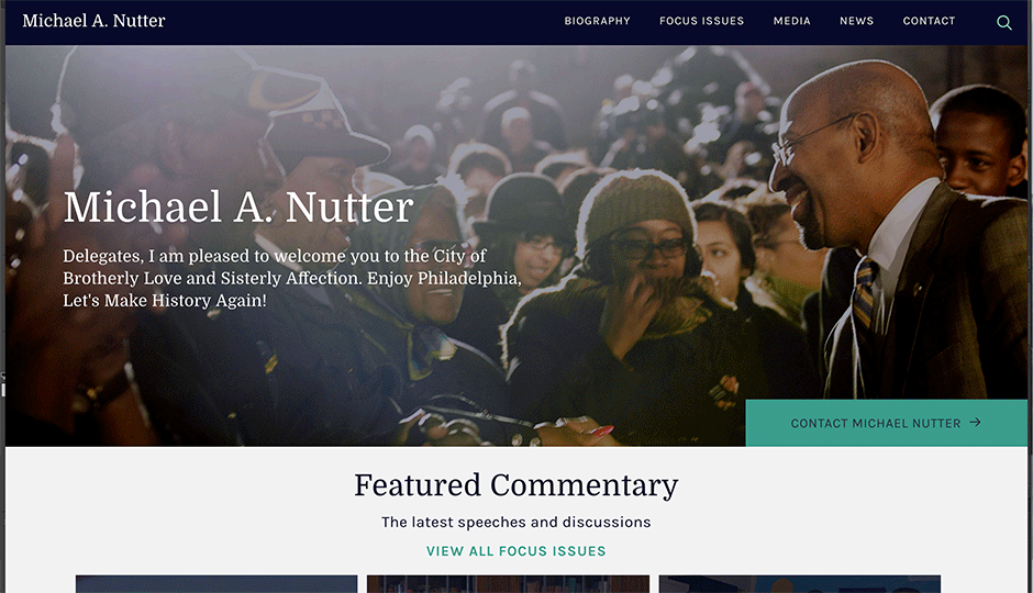 Front page of MANUTTER.com