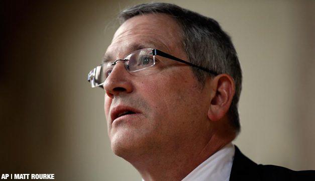 Temple University President Neil Theobald in February 2013.