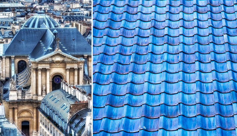 new shade of blue roof